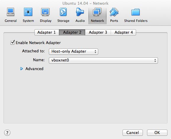 VirtualBox Adapter 2