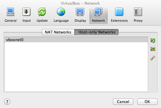 VirtualBox Host-only Network