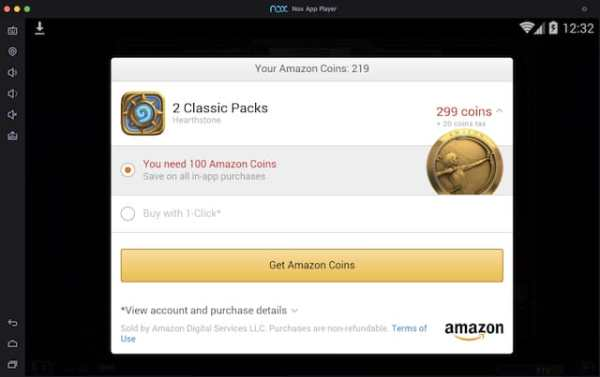 Hearthstone Amazon Coins