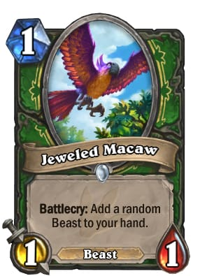 Hearthstone Jeweled Macaw