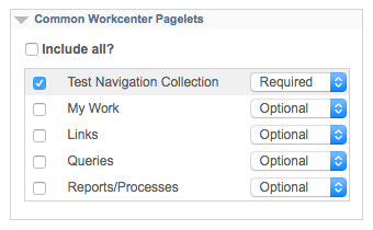 Common WorkCenter Pagelets in PeopleSoft Dashboards